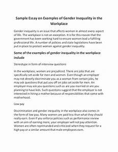 Sample High School Essay Gender Equality Essay In Hindi Language Essay On Paper also Into The Wild Essay Thesis Gender Equality Essay Fast Custom Essay Gender Equality Essay For  Essay Of Health