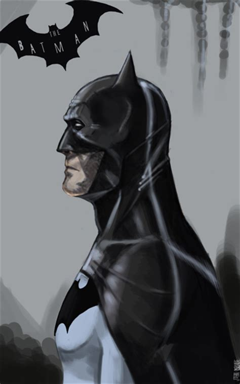 batman cowl study  johnosborne  deviantart
