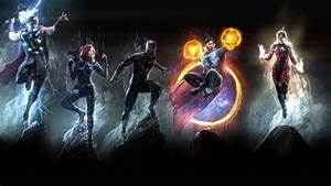 1920x1080, Marvel, Heroes, 4k, Art, Laptop, Full, Hd, 1080p, Hd, 4k, Wallpapers, Images, Backgrounds