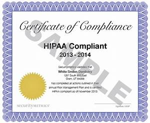 Hipaa training certificate template gallery certificate for Hipaa training certificate template