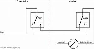 How To Connect 2 Way Switch