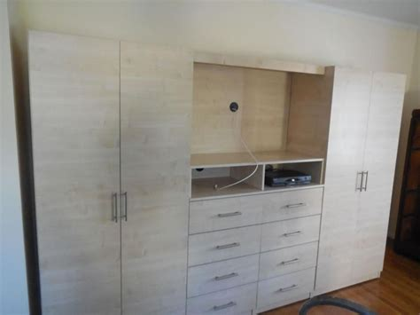 Wardrobe Wall Unit Furniture by Contempo Space On Wardrobe Closet Bedroom Wardrobe