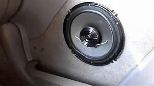 Installing Custom 6 5 Inch Speakers In Door Panel Part 1