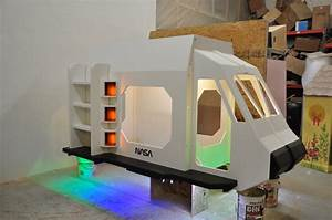 Space Shuttle Playhouse and Reading Nook - Indoor Use