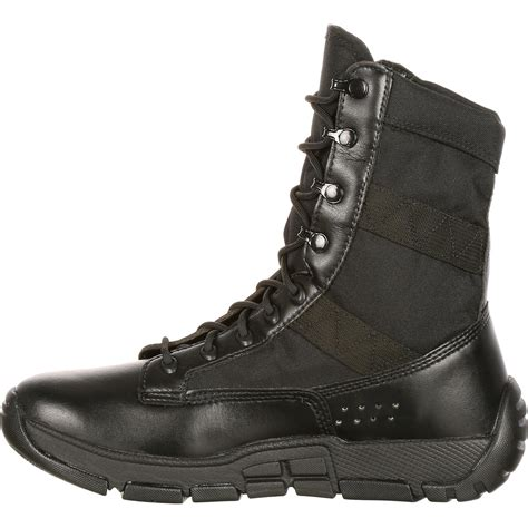 black master shoes 2 rocky c4t 39 s inspired black duty boots ry008