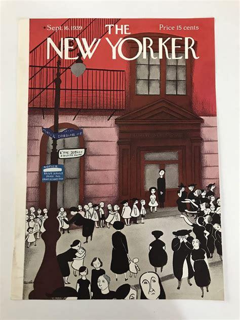 The NEW YORKER Magazine original cover September 16 1939 ...