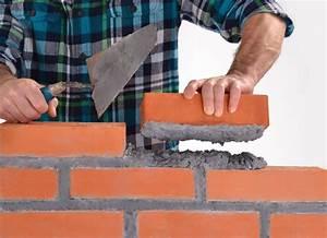Monter Un Mur En Brique Facilement