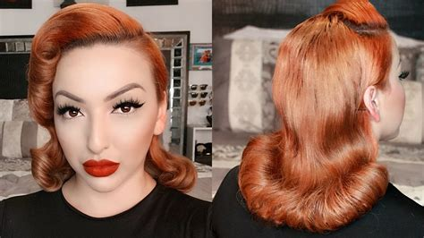 1950s Pageboy Hairstyle by 1950 S Pageboy Inspired Hair Tutorial