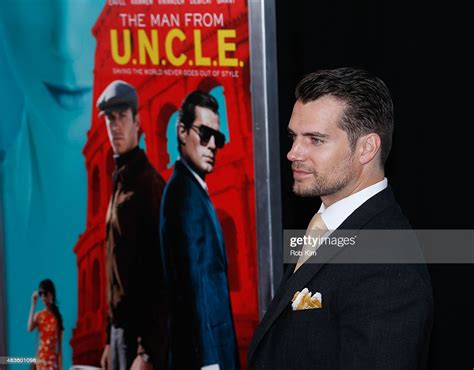 Henry Cavill attends the New York Premiere for
