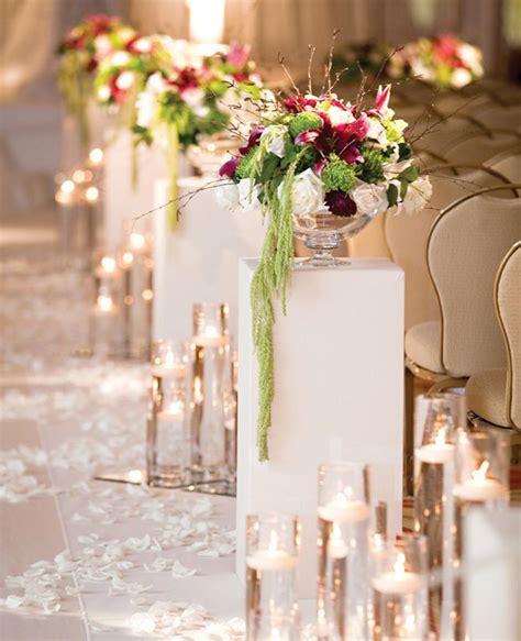 best 25 wedding aisle candles ideas on winter