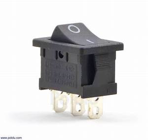 Rocker Switch  3 Schalter