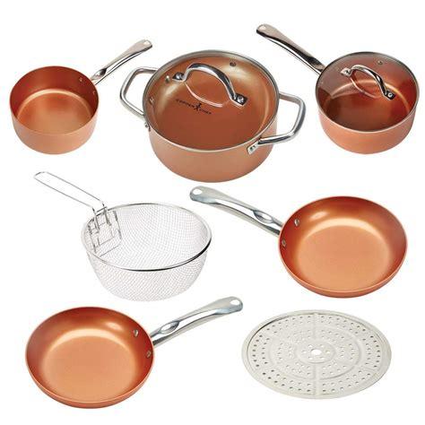 copper cookware chef stick non