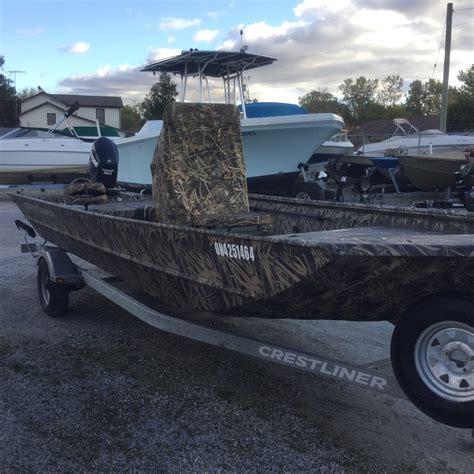 Crestliner Boats Retriever by 2014 Crestliner 2070 Retriever Cc Boat For Sale 20 Foot