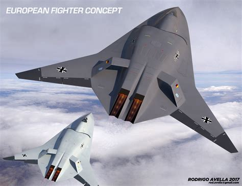 European Sixthgeneration Concept Fighter Aircraft By