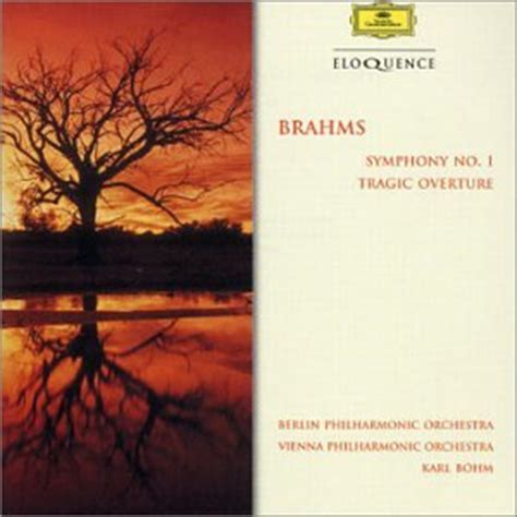 bohm berlin philharmonic orchestra johannes brahms karl