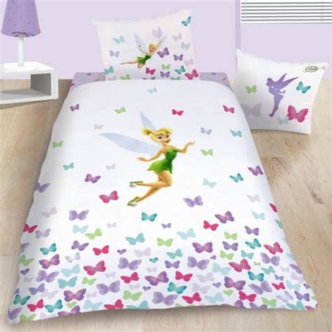 housse couette fee clochette housse de couette disney fairies f 233 e clochette 140 x 200 cm parure de lit fresh decokids