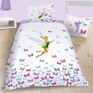 housse de couette disney fairies fee clochette 140 x With tapis chambre bébé avec housse de couette 220x240 fleurie