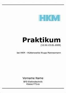 5 deckblatt praktikum reimbursement format kostenlose With praktikumsmappe vorlage