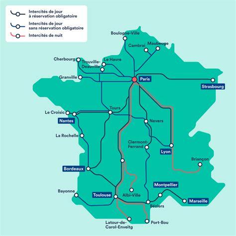 foto de carte des lignes tgv france Info Vacances Guide Voyage