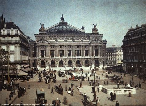 photographs  parisian street scenes   show city