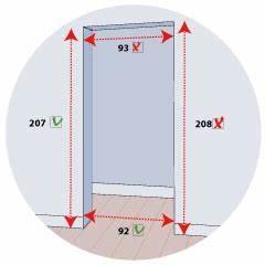 Dimension Porte Standard Exterieur : 50 unique porte d entree unique dimension porte interieur ~ Melissatoandfro.com Idées de Décoration