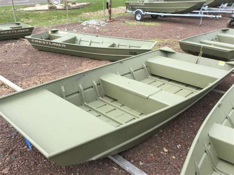 1448 Jon Boat For Sale by 2016 New Crestliner 1448 Cr Jon Boat For Sale 1 940