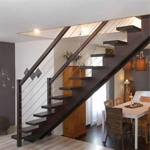 Escalier Limon Central Lapeyre Pose With Escalier Limon