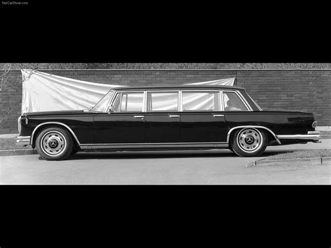 Mercedes has always been at the top of luxury automobiles, and this 1975 pullman maybach limo exemplifies their long history of making fine cars. Mercedes-Benz 600 Pullman Limousine (1964) picture #05 ...