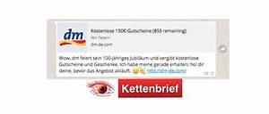 Dm Gutschein Wert : 150 euro dm gutschein via whatsapp nachricht echt oder fake ~ Orissabook.com Haus und Dekorationen