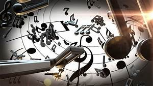 Music Notes Stock Footage Video - Shutterstock