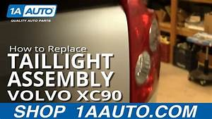 How To Install Replace Taillight And Bulb Volvo Xc90 03