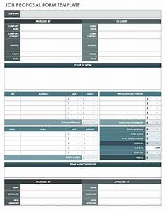 scope of work proposal free job proposal templates smartsheet