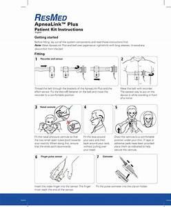 Resmed Sleep Apnea Machine Apnealink Plus Users Manual