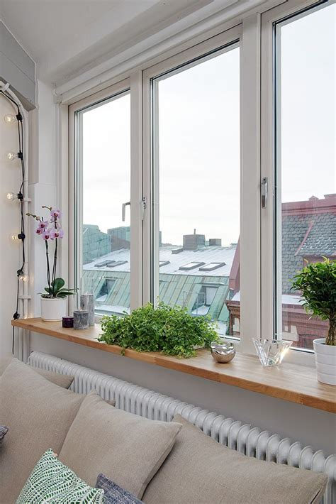 Window Sill Decor by Window Sill Living Dining Family Room Decorating