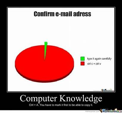 Computer Knowledge Meme Spook Message