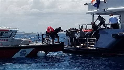 30 Year Old Man Found Passed Out On Yacht Off Coast Of Fort