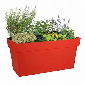 Jardiniere Sur Roulette : bac jardini re roulettes rouge jardin et saisons ~ Farleysfitness.com Idées de Décoration