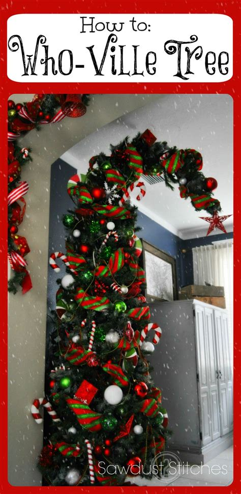 grinch inspired decorating best 25 grinch tree ideas on