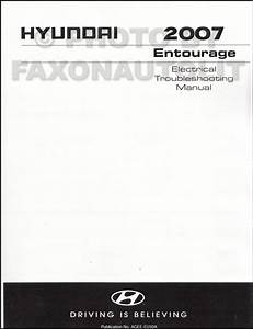 2007 Hyundai Entourage Electrical Troubleshooting Manual