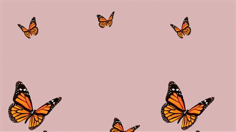 butterfly laptop aesthetic wallpapers