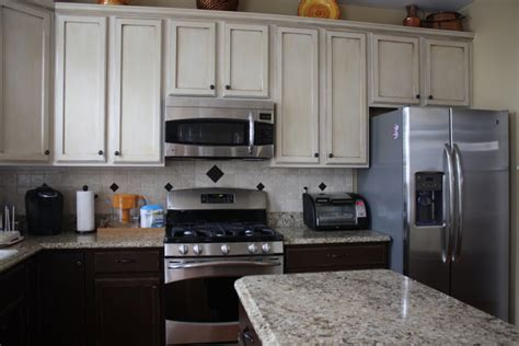 different colors of kitchen cabinets stunning two tone kitchen design with espresso brown walls 8689