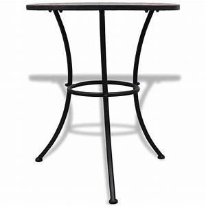 Bistrotisch Mit 2 Stühlen : der mosaik bistrotisch 60 cm mit 2 st hlen terrakotta ~ Michelbontemps.com Haus und Dekorationen
