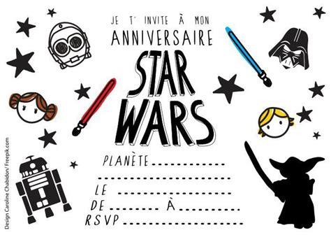 Votre enfant est un passionné de la saga star wars ? Carte Joyeux Anniversaire Star Wars / Carte Anniversaire ...