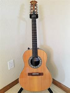 1981 Ovation 1624 Country Artist Acoustic    Electric