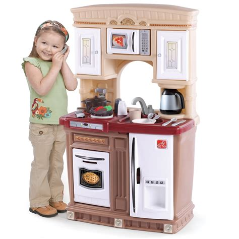 small wooden play kitchen plastic play kitchen step 2 y with design with