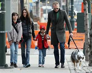 Paul Bettany in Jennifer Connelly And Family Out Walking ...