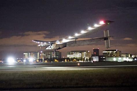 Solar Impulse 2 Sichere Landung In Phoenix Nach
