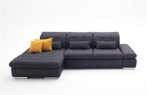 grey sectional sleeper sofa alpine sectional sleeper sofa left arm chaise facing