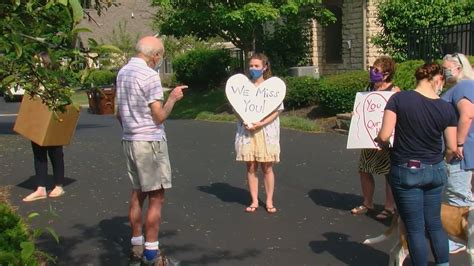 Local Holocaust survivor surprised with socially distant ...