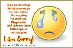 I AM Sorry Husband Quotes